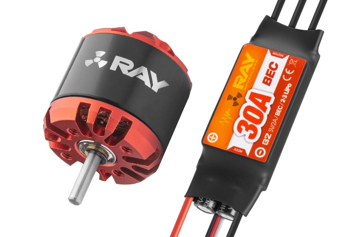 Náhľad produktu - Combo set RAY G3 C2830-1300 + RAY G2 30A regulátor