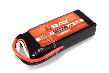 G3 - LC RAY Li-Pol 1600mAh/11,1 30/60C Air pack 17,8Wh