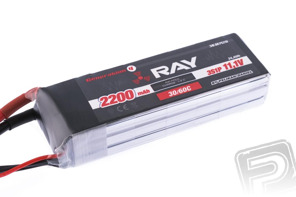 G4 RAY Li-Po 2200mAh/11,1 30/60C Air pack