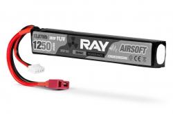 RAY Airsoft LiPo - 3S 1250mAh 11,1V 25/50C, Dean-T Plug