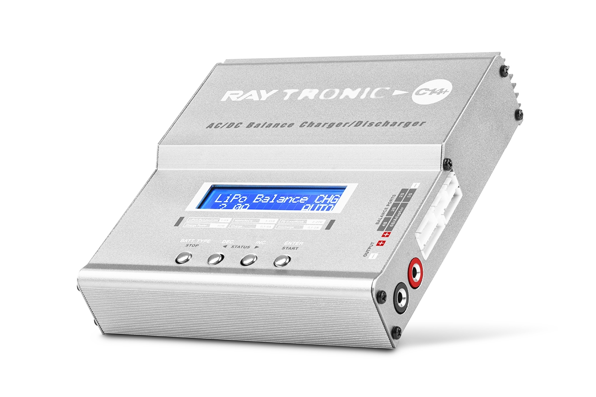 Náhľad produktu - RAYTRONIC C14+ nabíjač 80W