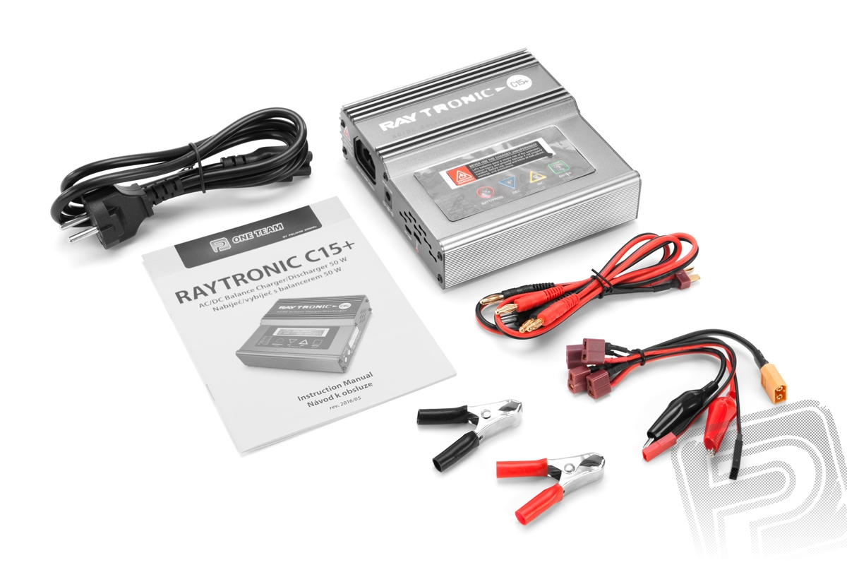 RAYTRONIC C15+ nabíječ s balancerem 50W