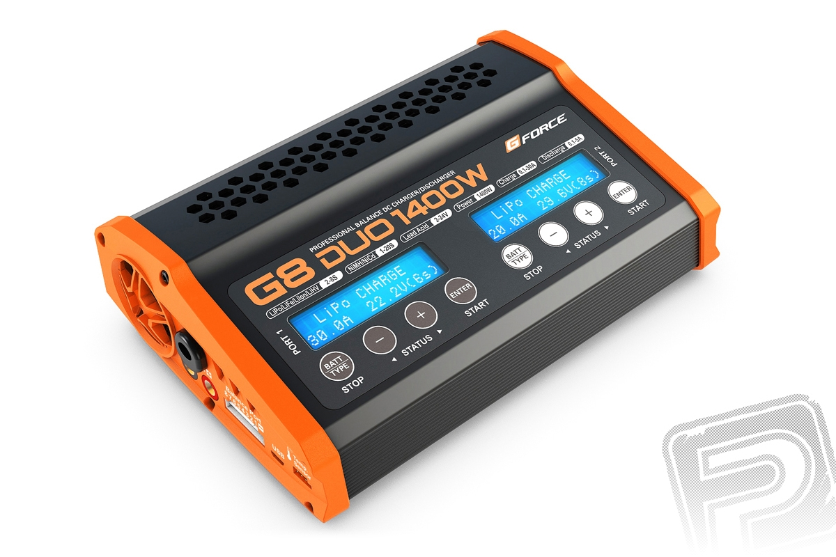 G-Force G8 DUO 1400W nabíječ
