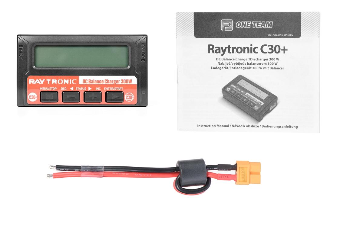 RAYTRONIC C30 Plus nabíječ s balancerem 300W