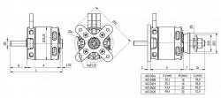 AXI 2820/12 V2 Gold Line striedavý motor