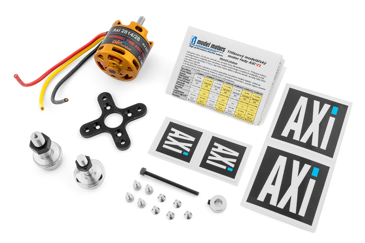 AXI 2814/28 V2 AirCombat střídavý motor