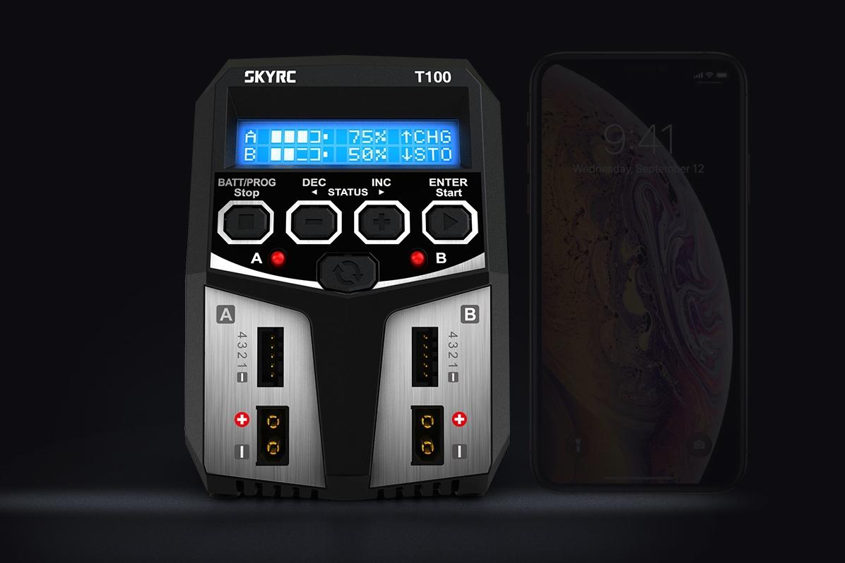 SKY RC T100 nabíječ 2x50W