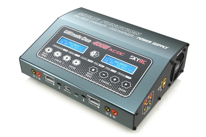 Náhľad produktu - SKY RC D400 Ultimate Duo nabíjač 2x 200W
