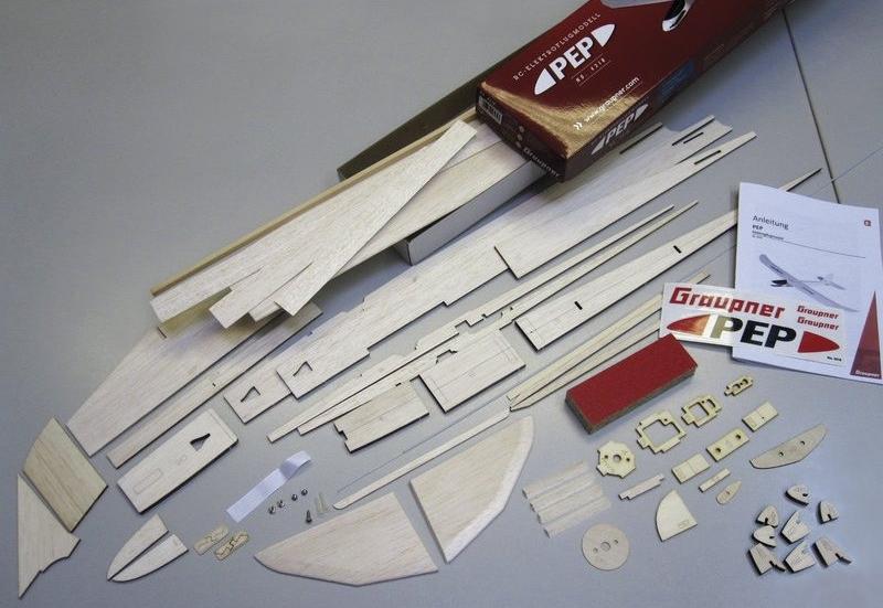 RC-Elektromodell PEP balsa stavebnice