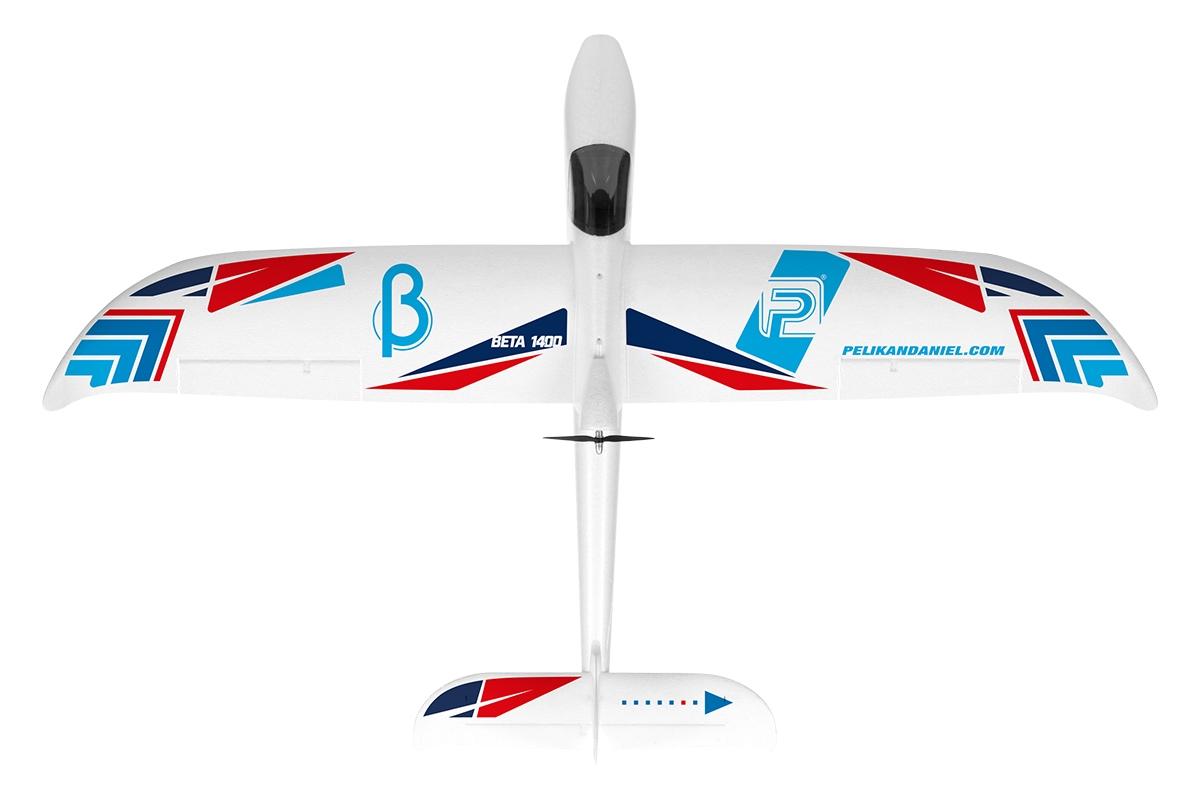 BETA V2 1400 ARF (PNP bez Tx,Rx, bat a nabíječe)