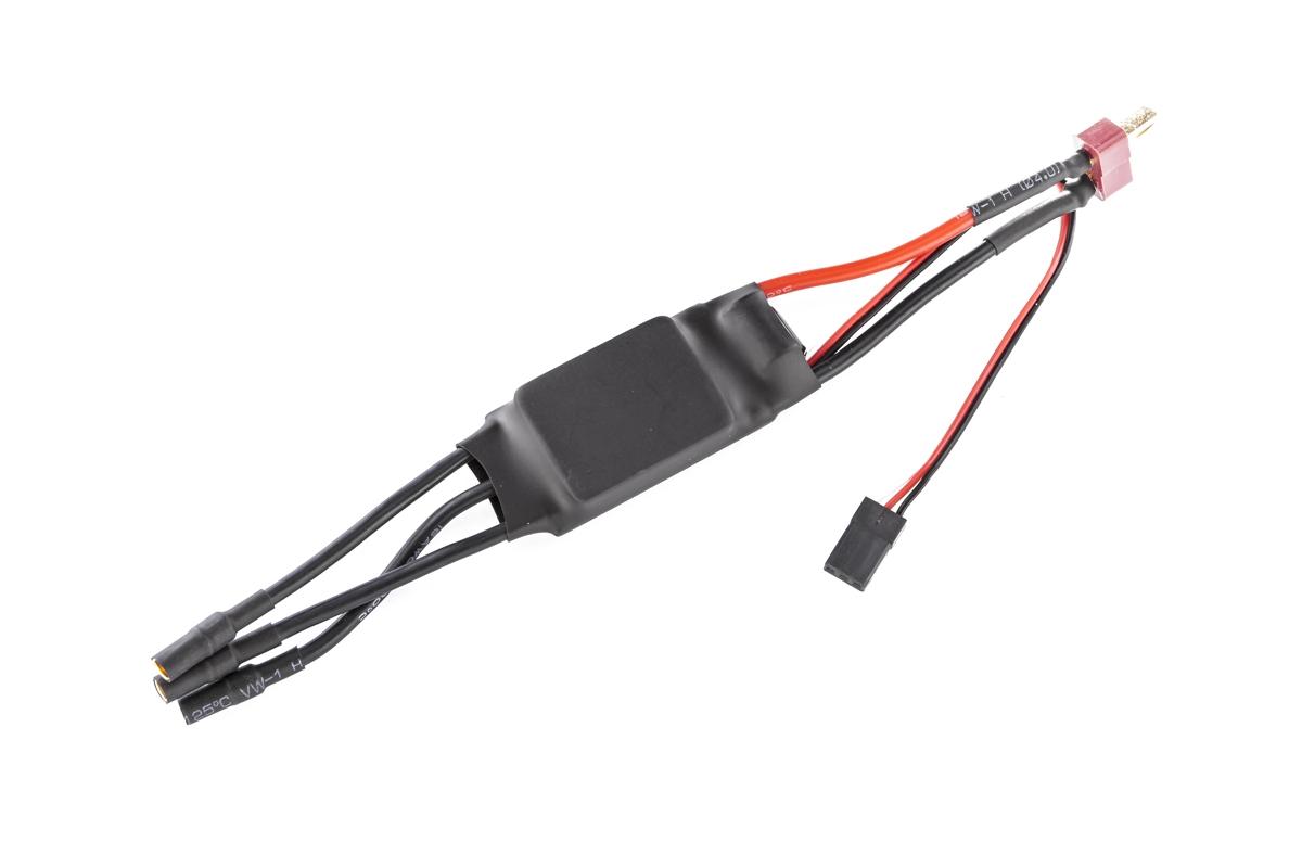 Robin II - elektronický regulátor otáček