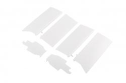 Giant F4UCorsair EPP - predné klapky podvozka BIELE