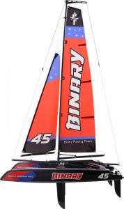 Binary 400mm sailing boat/catamaran RTR - red