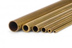 Mosadzná trubička tvrdá 2.0/1.4mm 1m