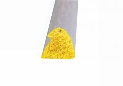 Náběžná lišta 8×9×1000 mm (žlutá)