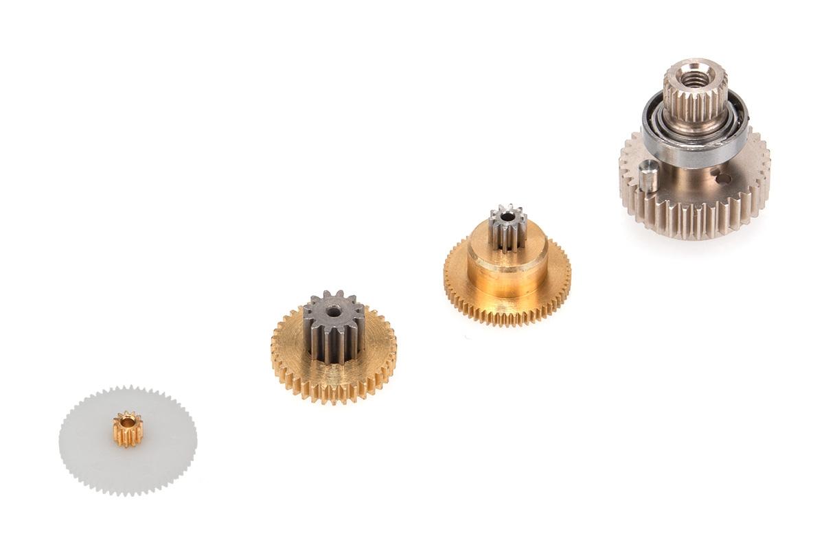 Náhled produktu - Převody pro servo HBS 660 BB, MG-Hi Volt-Brushless
