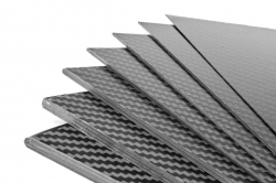 Uhlíková deska 400x250x1,5mm