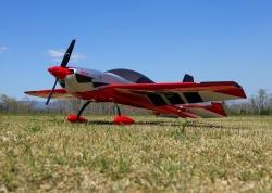 Extra NG 1,52m ARF (červená/strieborná)
