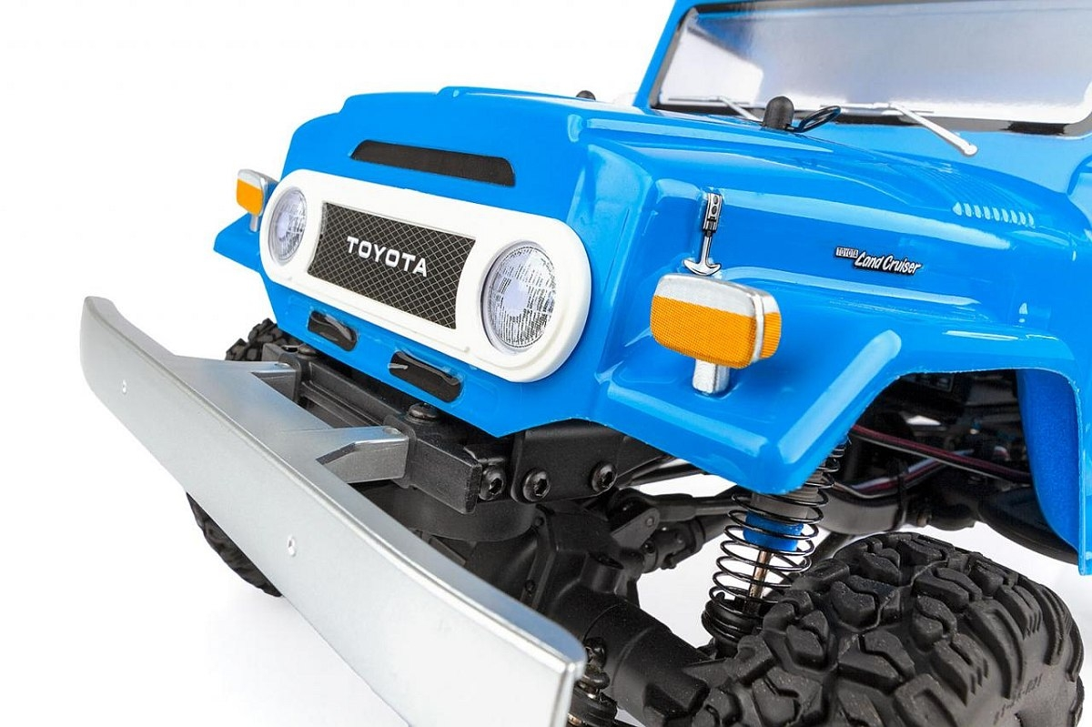CR12 Toyota FJ45 Pick-Up, RTR, modrá karoserie
