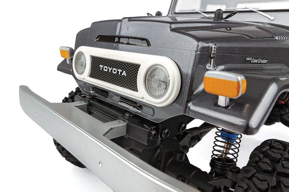 CR12 Toyota FJ45 Pick-Up, RTR, šedá karoserie