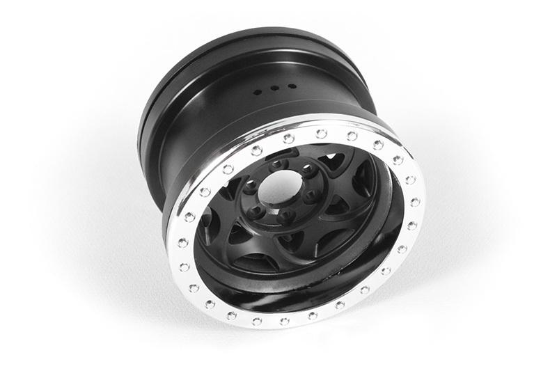 Náhled produktu - 2.2 Walker Evans disky chrom/černá (2 ks.)