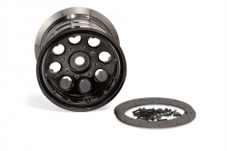 Oversize Beadlock 8-paprskové disky černý chrom (2 ks)