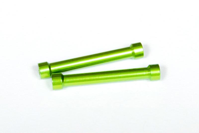 Náhled produktu - Hliníkové sloupky 7x45mm zelený (2ks.)