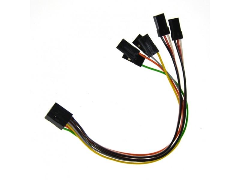 Náhľad produktu - Zväzok káblov 150mm (3SX, 3X, CORTEX)