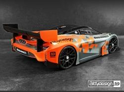 Seven65 1:8 GT čirá karoserie 325mm WB