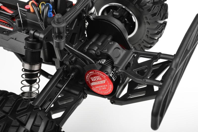 MAMMOTH XP - 1/10 Monster Truck 2WD - RTR - střídavý motor