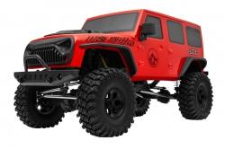 1:10 CREW 4X Crawler RTR Set 2.4GHz (červená)