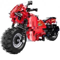 RC stavebnica z kociek – motocykel