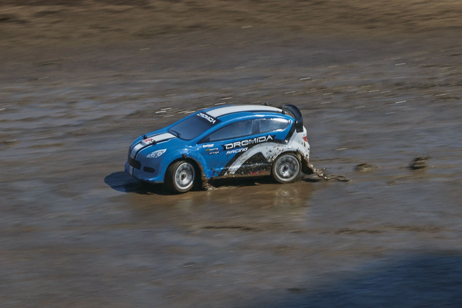 Rally Car Brushless 4WD 1/18 RTR
