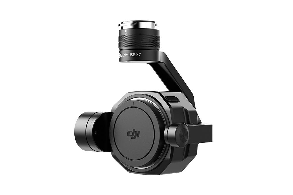 Náhled produktu - Zenmuse X7 kamera pro Inspire 2 (bez objektivu)