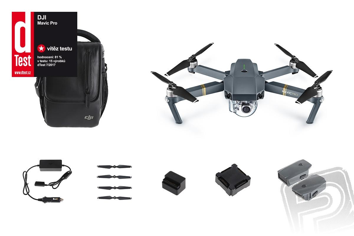 Náhled produktu - RC dron DJI Mavic Pro Fly More Combo