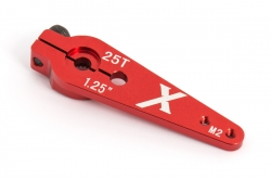 Servo páka 31,7 mm pre el. modely, M2, 25z