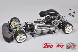 1:5 FG EVO 2020 (s motorom a čírou karosériou)