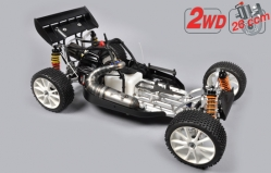 1:5 FG Leopard 2020 Competition Buggy 2WD, Clear Body