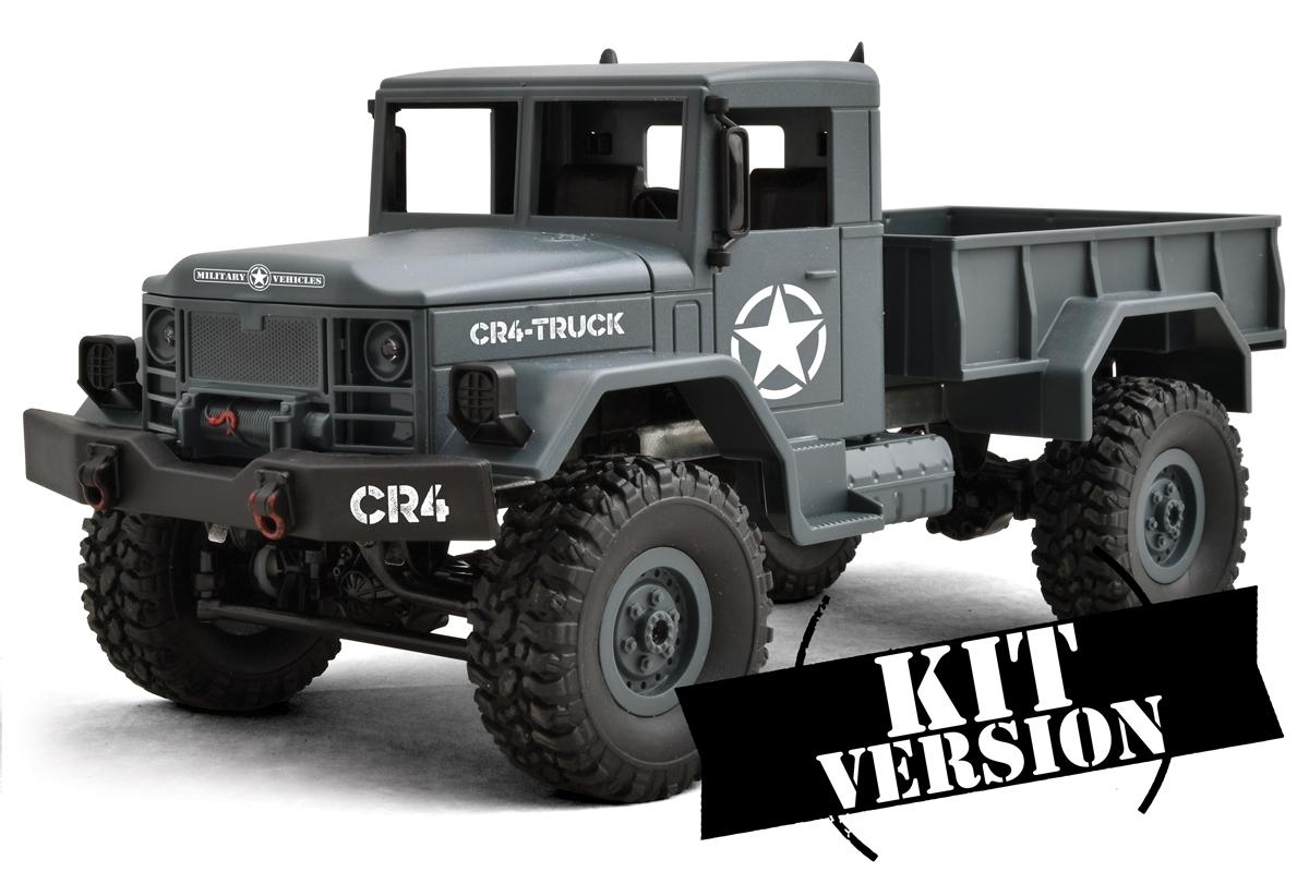 FUNTEK CR4 1/16 4WD - modro šedá barva - stavebnice