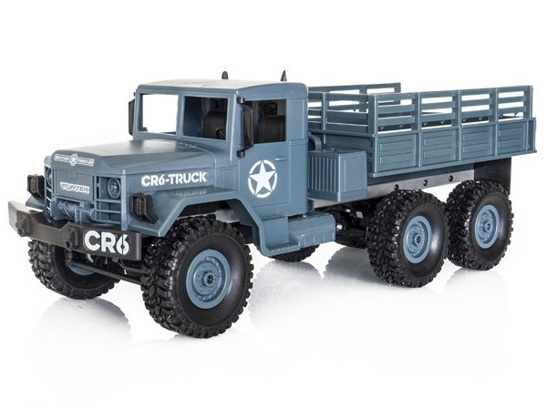FUNTEK CR6 1/16 RTR 6x6 - modro šedá barva