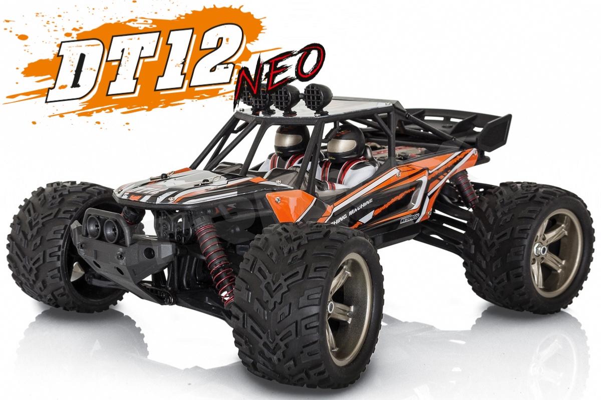 DT-12 NEO elektro Offroad písečná BUGGY - 2.4GHz RTR - oranžový (2wd)