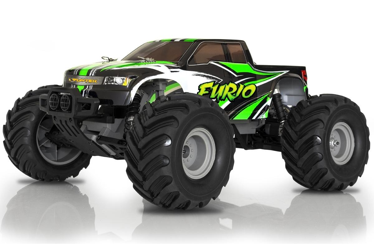 FURIO elektro Offroad Monster truck - 2.4GHz RTR (2 wd)