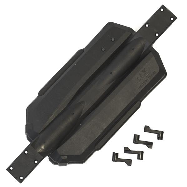 Podvozek + zámky krytu baterie - Antix MT-1/MT12 NEO
