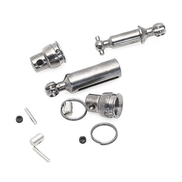 Středové přední a zadní kovové unašeče pro modely CR4/PR4