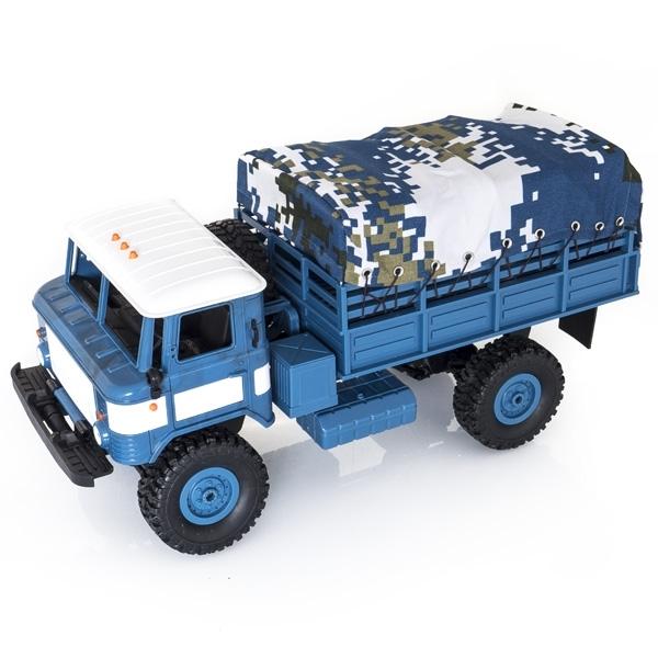 Modrá plachta korby pro modely PR4