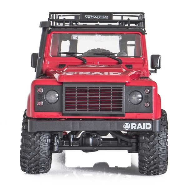 FUNTEK RAID 1/12 RTR 4wd - červená barva