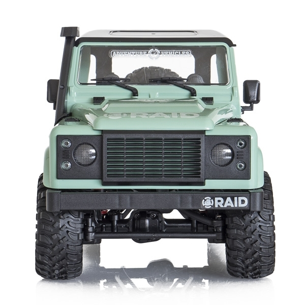 FUNTEK RAID 1/12 RTR 4wd - zelená/pastelová barva