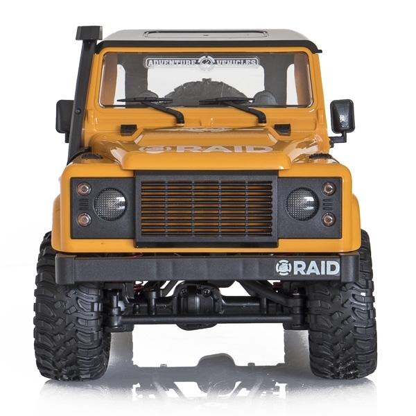 FUNTEK RAID 1/12 RTR 4wd - žlutá barva