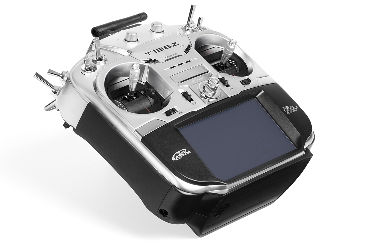 Futaba 18SZ, přijímač R7008SB (mode 2)