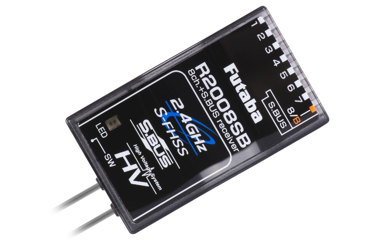 Futaba R2008SB S-FHSS/FHSS 8k přijímač